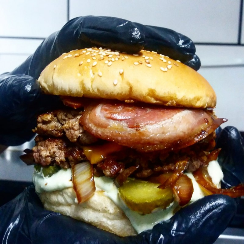 Duplo Smash Burger