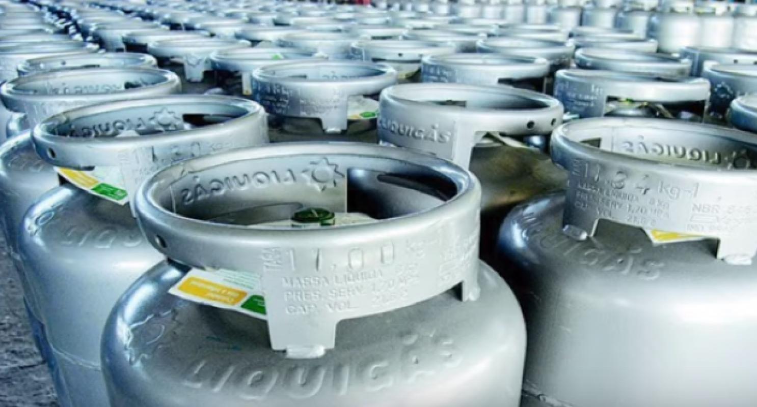 Botijão de Gás P02 KG